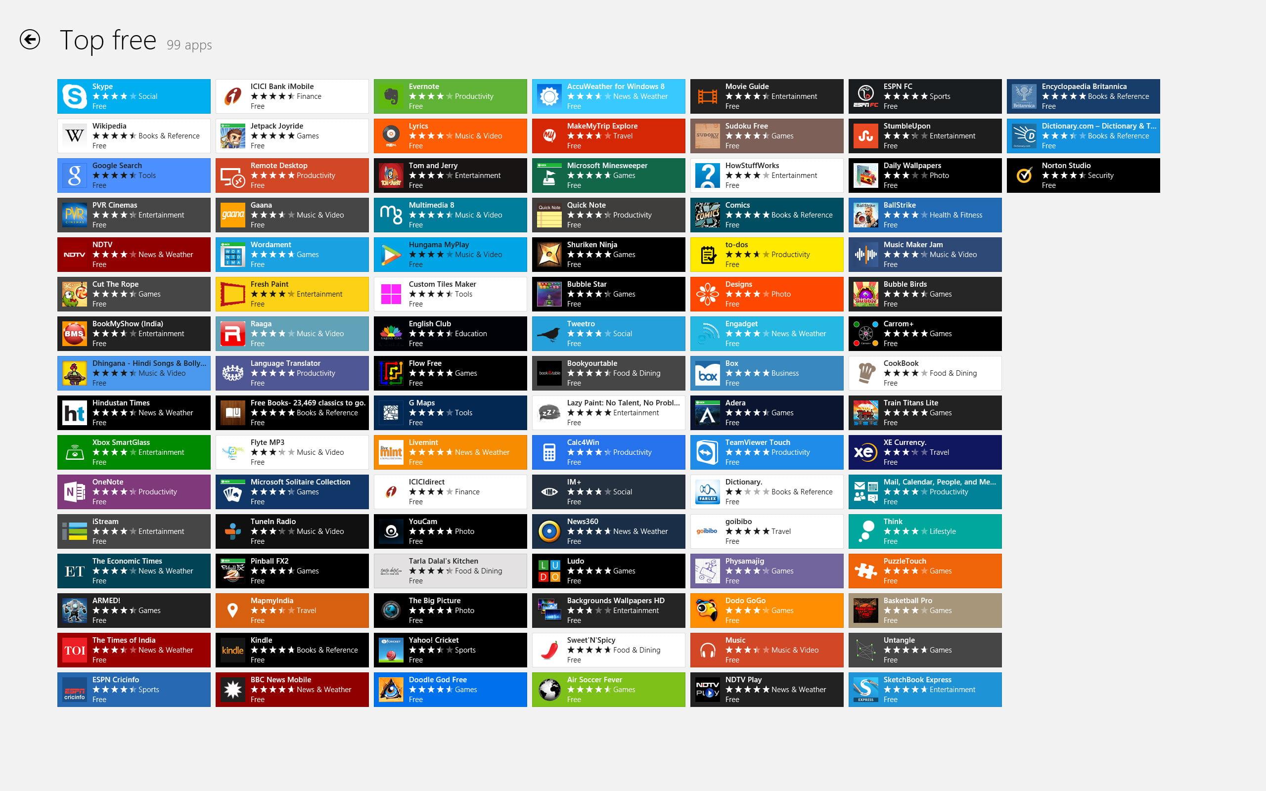 100 نرم افزار رایگان ویندوزفون