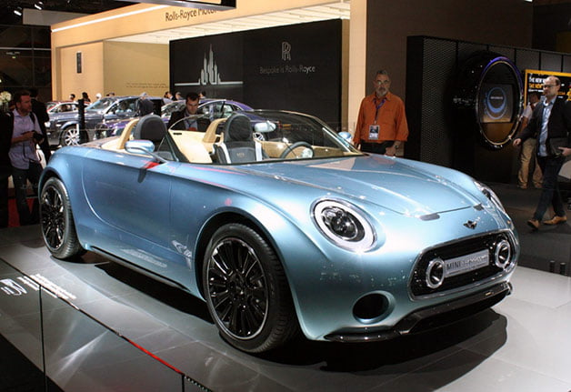 ماشین Mini Superleggera Roadster