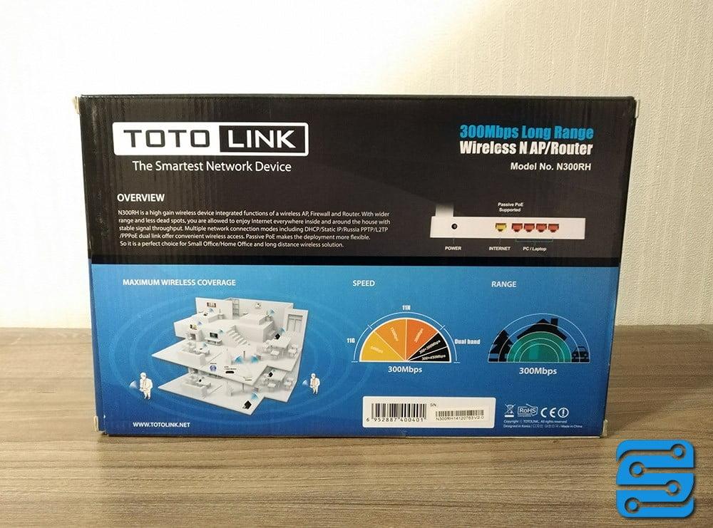 بررسی روتر TOTOLINK N300RH
