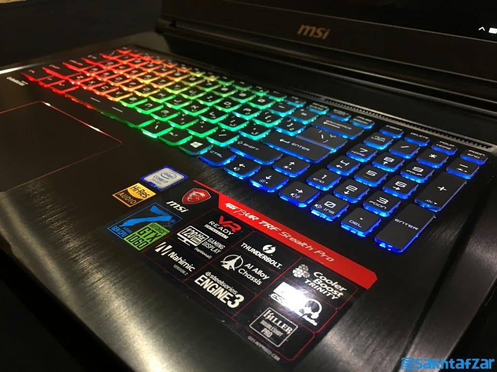بررسی لپ تاپ گیمینگ MSI GS73VR 7RF Stealth Pro