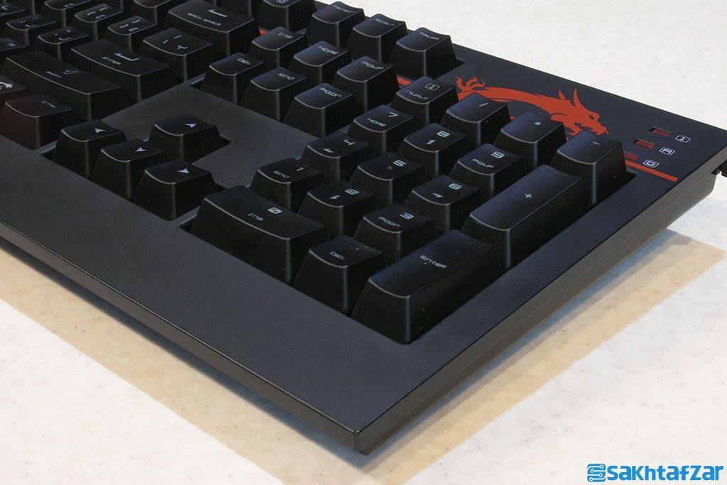 بررسی کیبورد مکانیکی گیمینگ MSI GK 701