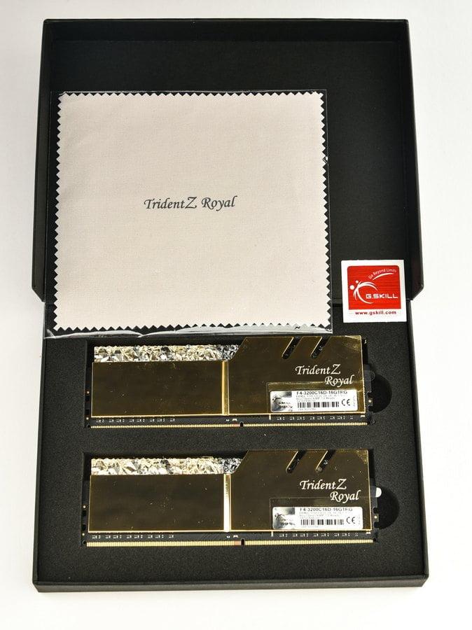 GSKILL TRIDENT ROYAL DDR4-3200