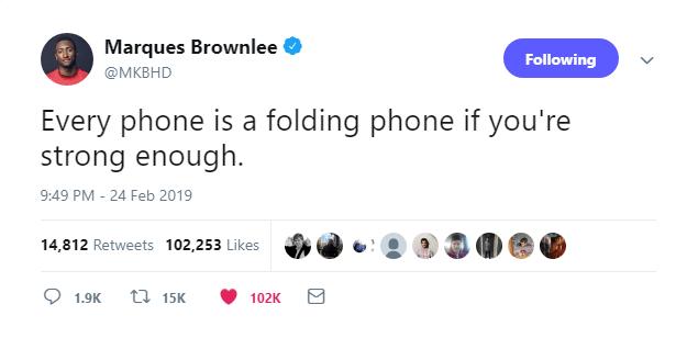 توئیتی از مارکس براونلی