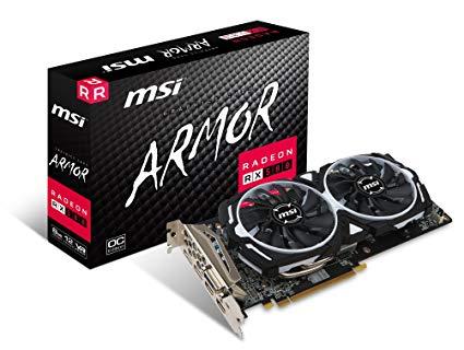 کارت گرافیک MSI RADEON RX 580 ARMOR 8G