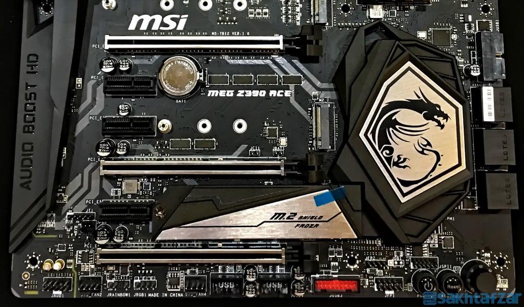 بررسی مادربرد  MSI MEG Z390 ACE