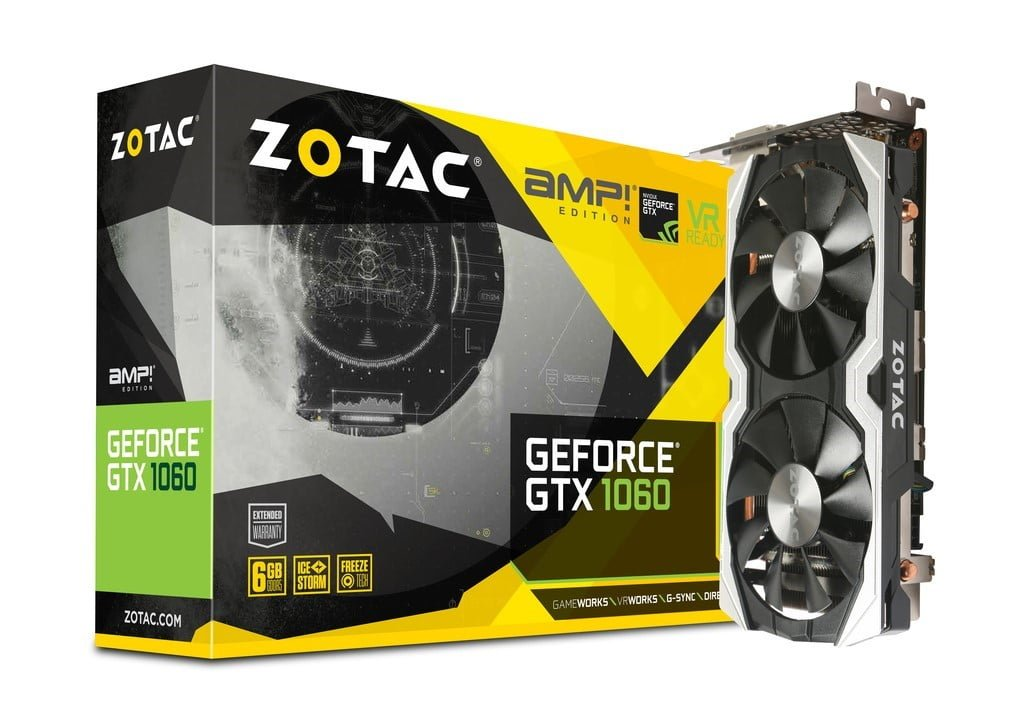 ZOTAC GTX 1060 AMP! Edition 6GB