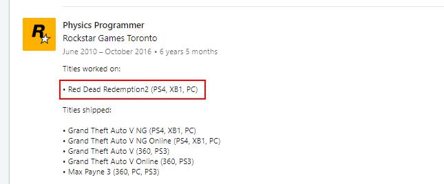 شایعه دیگری عرضه Red Dead Redemption 2 برای PC را تایید میکند
