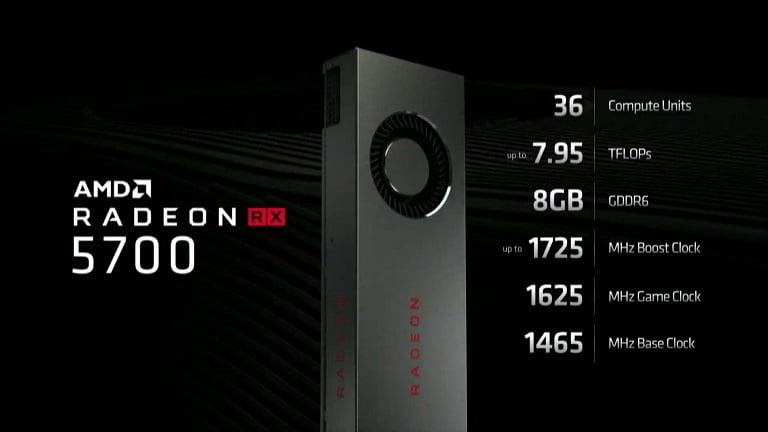 کارت گرافیک Radeon RX 5700