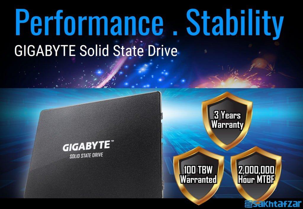 بررسی GIGABYTE SSD 240GB
