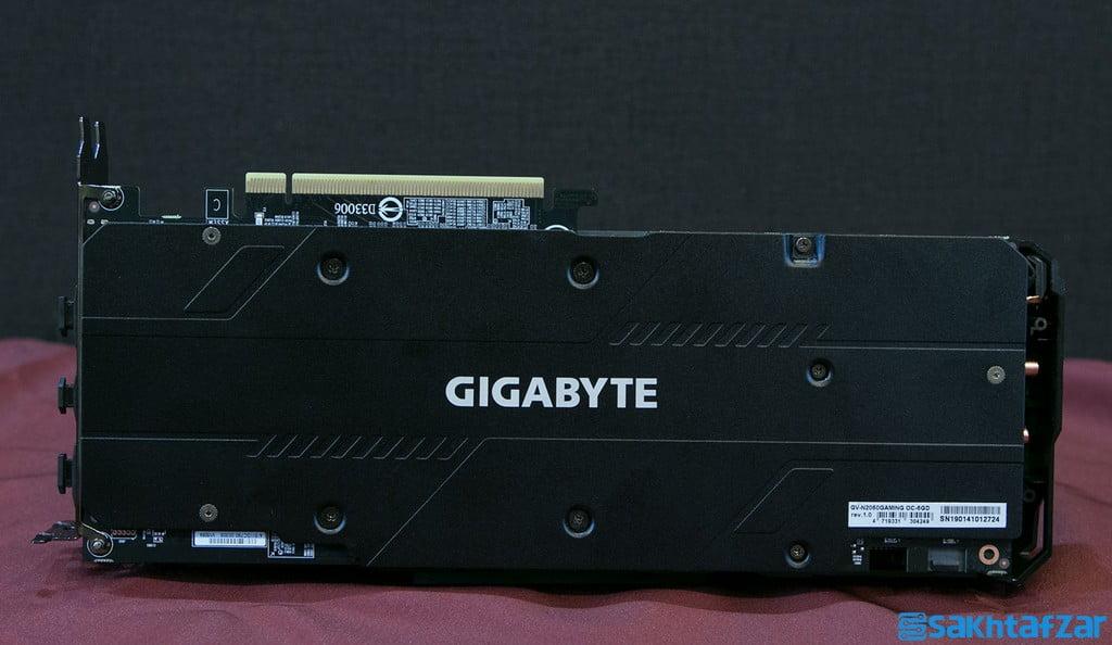 بررسی کارت گرافیک GIGABYTE RTX 2060 GAMING OC PRO
