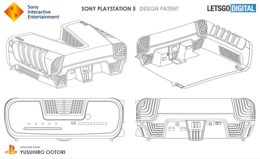 حق اختراع ثبت شده مرتبط با PS5؛ طراحی پلیاستیشن 5 لو رفت؟