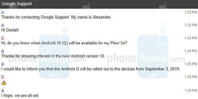 زمان عرضه آپدیت اندروید 10 برای گوشیهای پیکسل