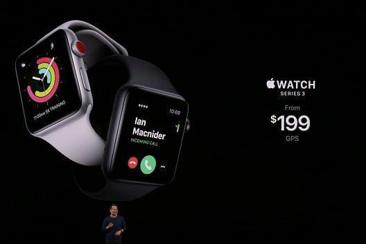 رونمایی از Apple Watch 5