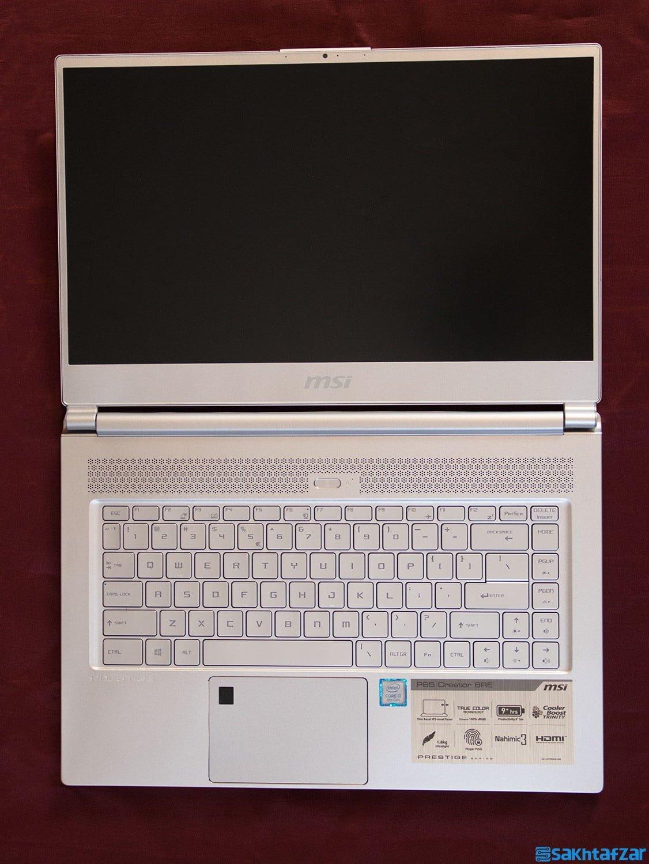 بررسی لپتاپ مخصوص طراحی MSI P65 CREATOR 8RE