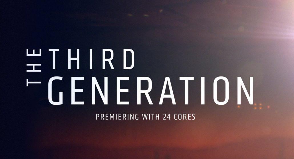 معرفی پردازندههای نسل سوم Ryzen Threadripper در 16 آبان ماه