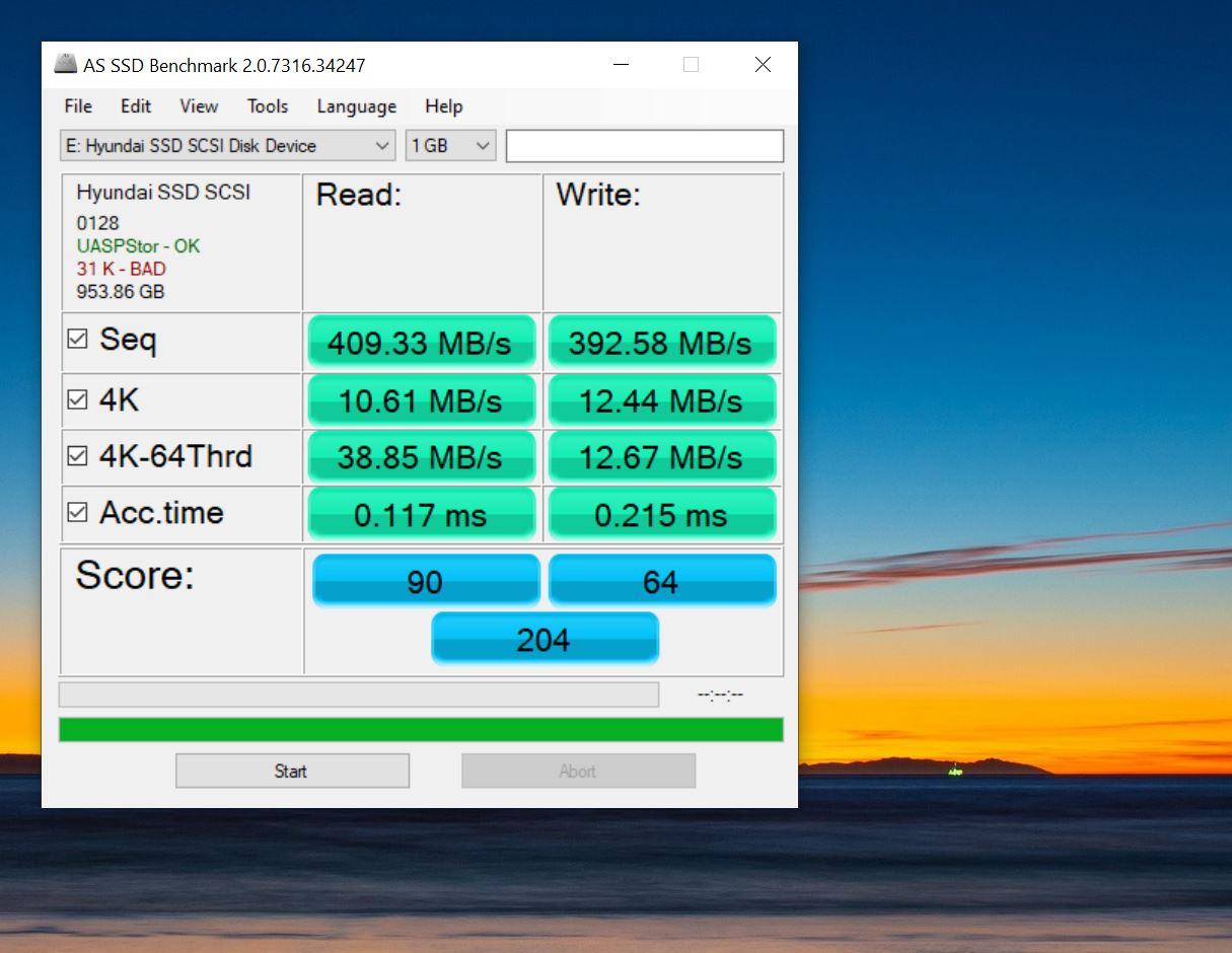 بررسی درایو SSD یک ترابایتی خارجی شرکت Hyundai