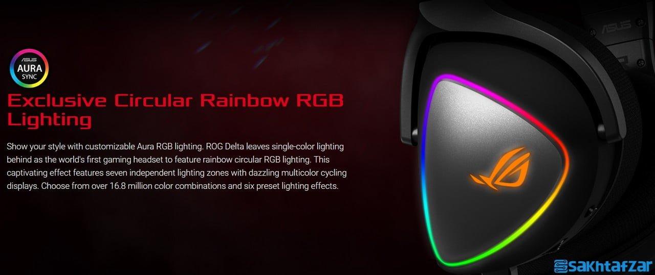 بررسی هدست گیمینگ ایسوس Asus ROG Delta RGB