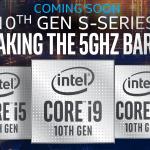 پردازندههای نسل دهم اینتل