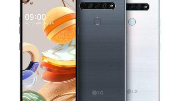 گوشیهای K51S، K61 و K41S الجی