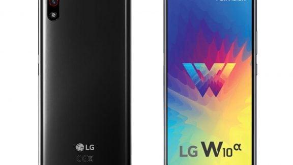 گوشی W10 آلفا الجی