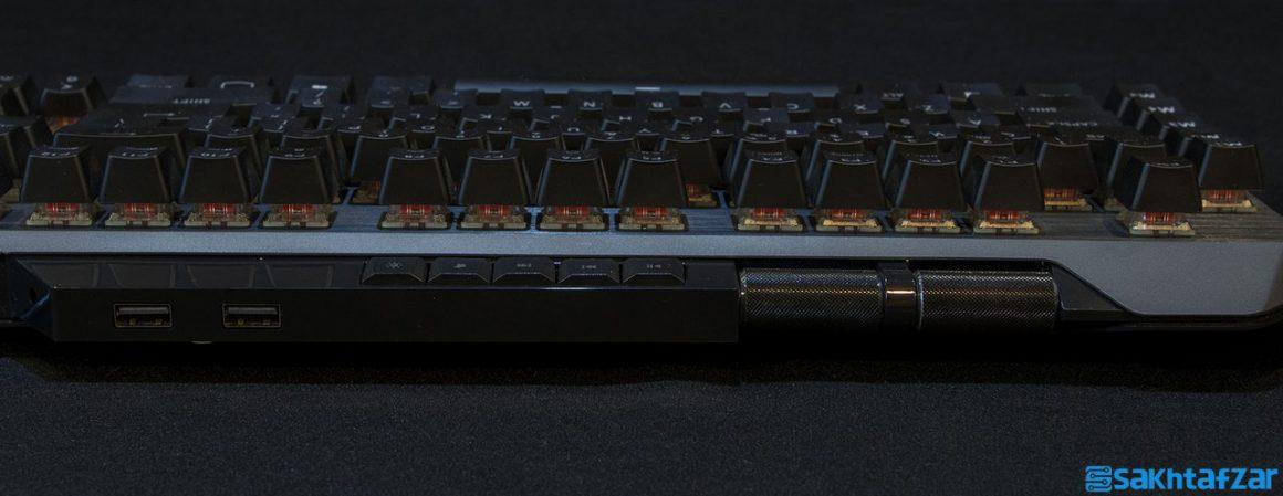 بررسی کیبرد مکانیکی Cooler Master MK850