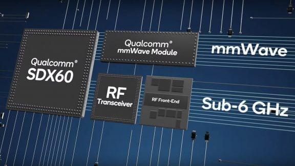 مودم Snapdragon X60 5G با فناوری 5 نانومتری تولید میشود