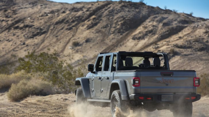 جیپ پیکاپ آفرود Gladiator Mojave