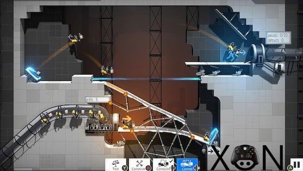 بازی Bridge Constructor Portal کامپیوتر ارزان قیمت