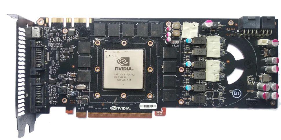 گرافیک نایاب GeForce GTX 480
