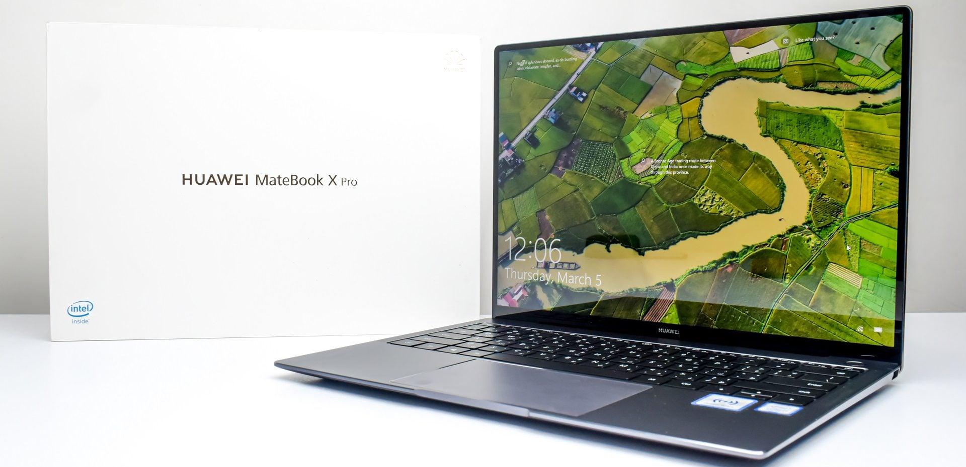 بررسی لپتاپ میت بوک X Pro 2019 هوآوی