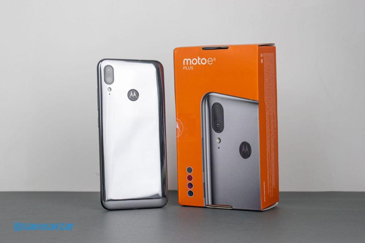 گوشی موتو e6 Plus موتورولا