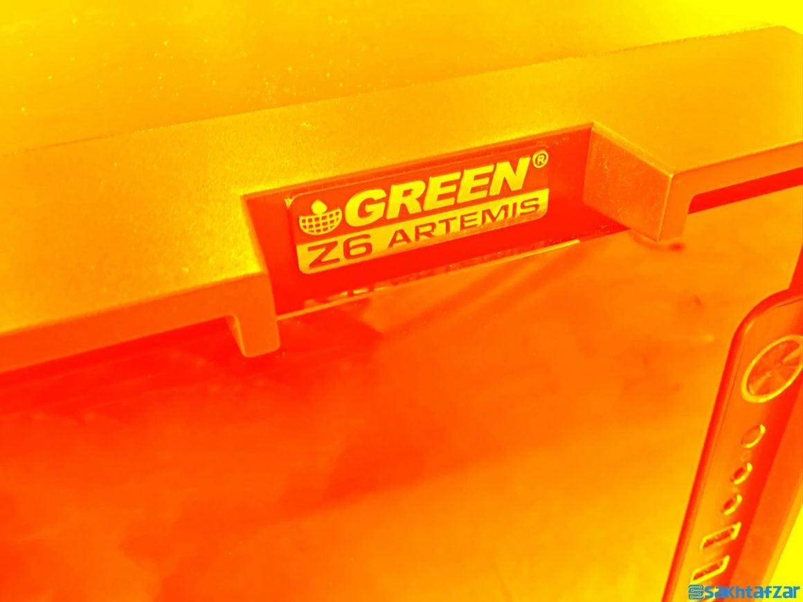 بررسی کیس GREEN Z6 ARTEMIS
