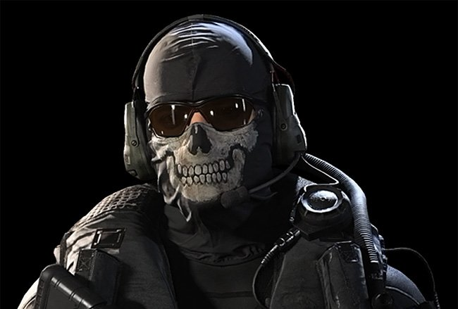 عنوان بازسازی شده Call of Duty Modern Warfare 2 باندل Ghost