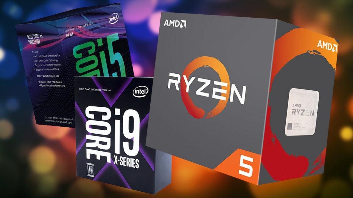 پردازنده AMD و اینتل