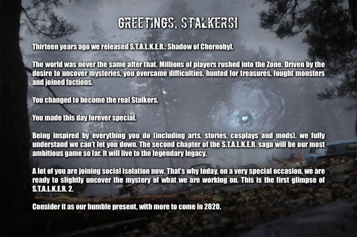بازی مورد انتظار S.T.A.L.K.E.R 2 معرفی شد