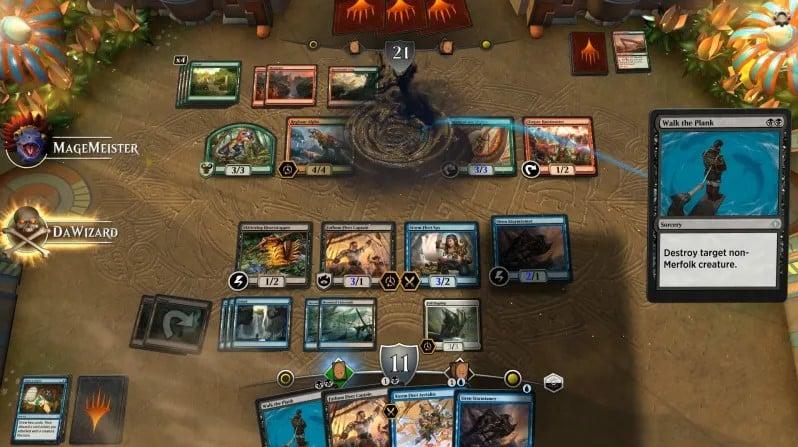 بازی کارتی Magic: The Gathering Arena