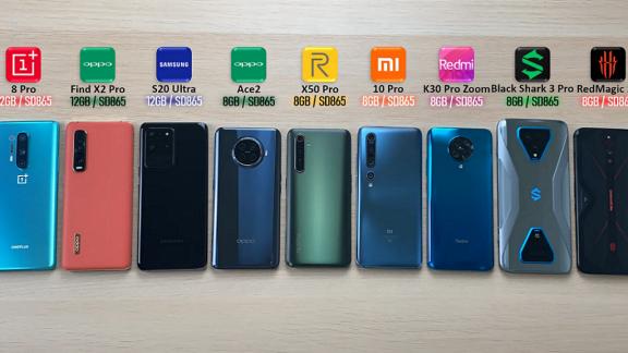 تست AnTuTu برای 9 گوشی اندرویدی