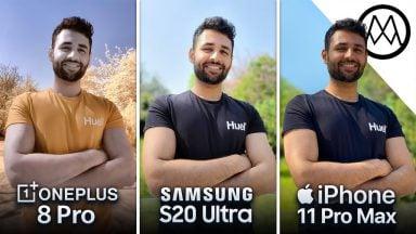 Galaxy S20 Ultra VS OnePlus 8 Pro