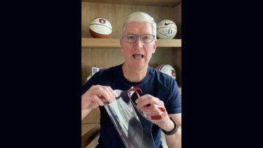 تولید شیلد محافظ صورت توسط اپل