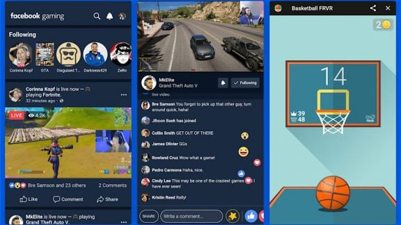 اپلیکیشن اختصاصی بازی فیسبوک