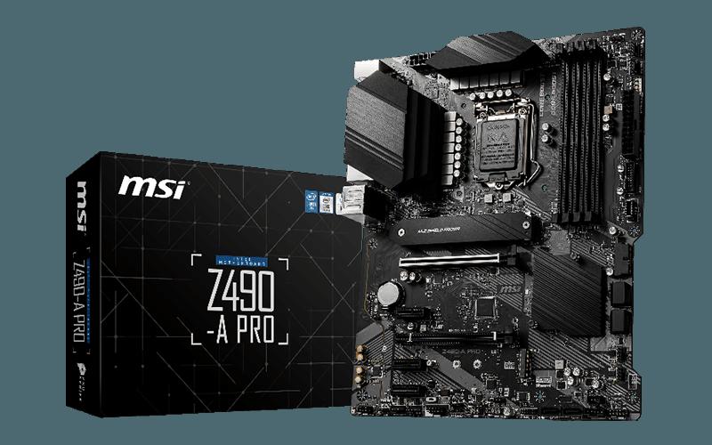 Z490-A Pro مادربرد چیپست 400 شرکت MSI