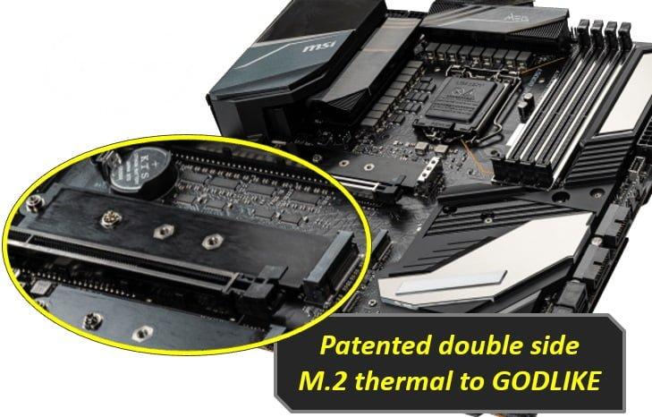 M.2 Shield Frozr مادربردهای سری 400 شرکت MSI