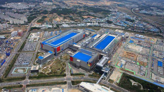 کارخانه تولید تراشه های 5 نانومتری سامسونگ