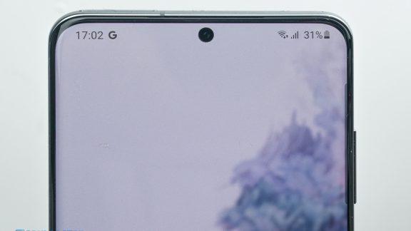 دوربین سلفی گلکسی S20 Ultra در DxOMark