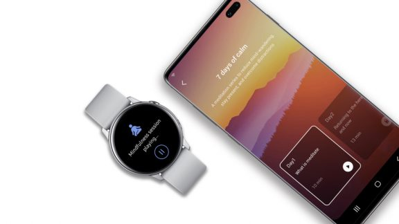 قابلیت های Samsung Health برای مدیتیشن