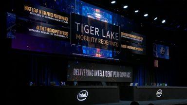 پردازندههای Tiger Lake
