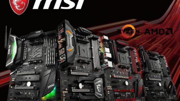 مادربرد MSI AMD X470