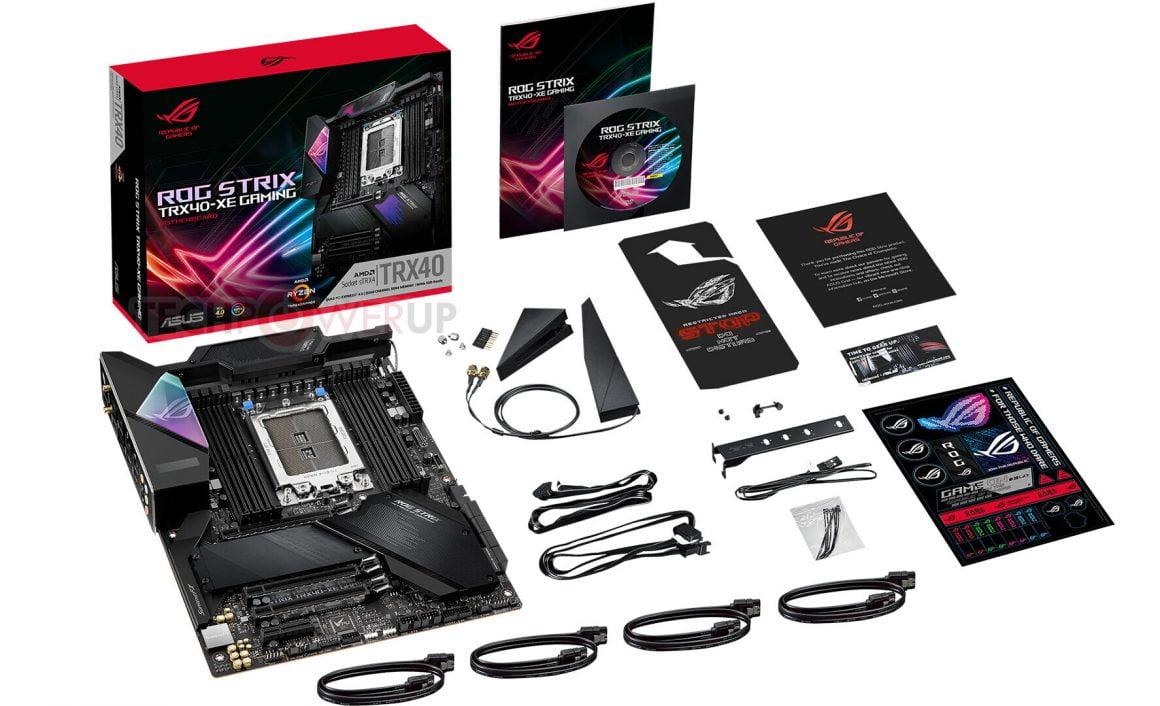 مادربرد ROG Strix TRX40-XE Gaming و متعلقات آن
