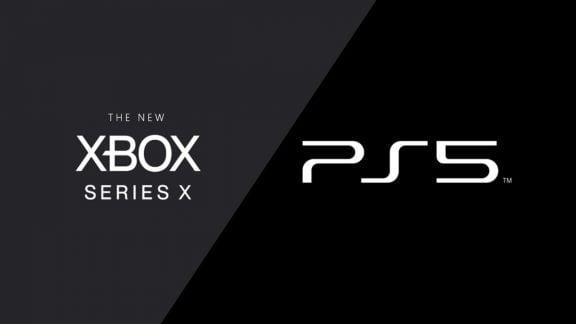 لوگو xbox series x و ps5
