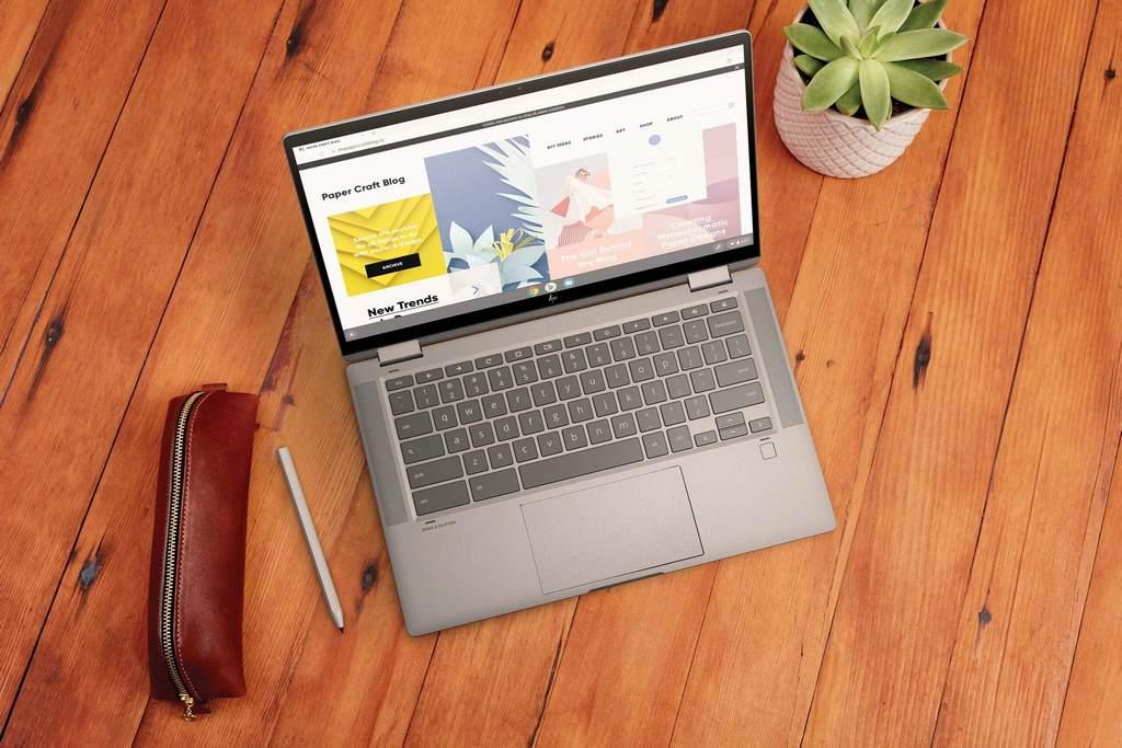 کروم بوک های جدید HP - x360 14c یک جایگزین شایسته